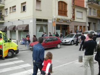 Un incendi crema la cuina del Restaurant La Bolera sense provocar ferits