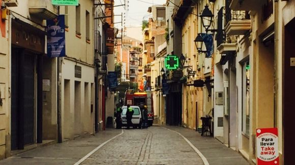 Els Mossos obren una investigació per furts a gent gran al carrer de Santa Maria i al seu entorn