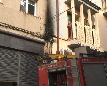 Reobren el trànsit a Enric Granados després de l'incendi d'un quadre elèctric