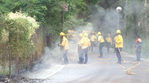 Protecció Civil alerta que la comarca presenta alt risc d'incendi en els propers dies