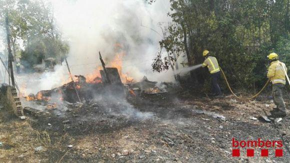Bombers alerten de la 'precarietat' de material i personal al parc Rubí-Sant Cugat