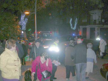 Quatre ferits lleus en el foc d'uns baixos al passeig de Torreblanca