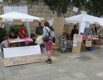 L'assemblea del 15-M escalfa motors de cara a la manifestació de Barcelona
