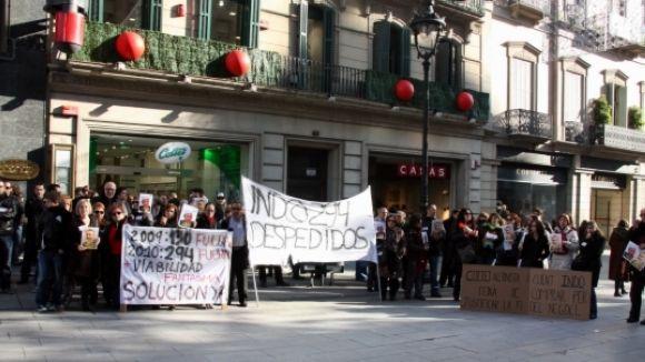 Converses fallides entre els treballadors i l'administració concursal d'Indo