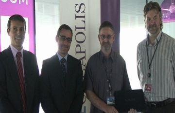El santcugatenc Joan Pau Girol rep el premi Ineeciativa.cat pel projecte 'Connecta l'escola'