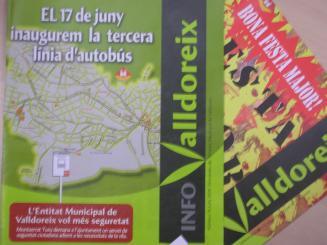 El butlletí mensual 'Info Valldoreix' no ha sortit al juny per divergències en el govern local