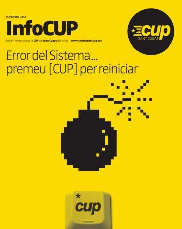 La CUP edita una nova publicació trimestral