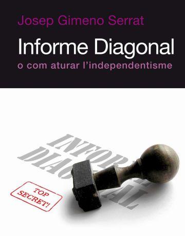 Avui surt a la venda i es presenta 'Informe Diagonal', nou llibre de Josep Gimeno