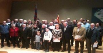 La Penya Blaugrana Sant Cugat entrega 25 insígnies als socis més veterans
