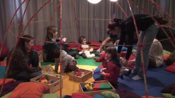 L'Institut de la Infància crea un espai lúdic per a infants de 0 a 3 anys per Nadal