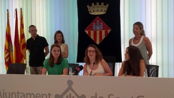 Dues estudiants de Fusió i una de Jong Twente han parlat en nom dels seus companys