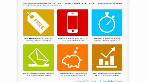 Neix una aplicació de mòbil per promocionar-se de franc a Sant Cugat