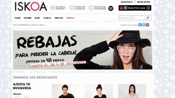 Iskoa espera convertir-se en líder de la venda i la moda a Internet