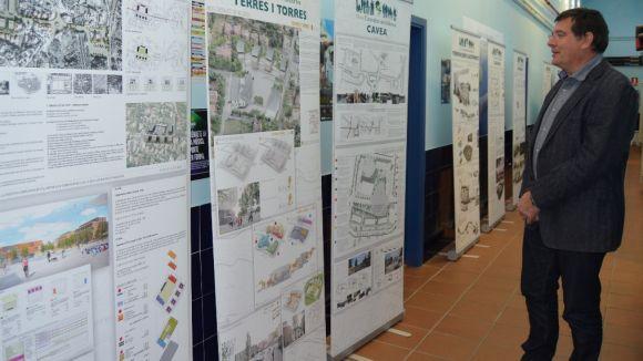Els projectes de la plaça de la Centralitat, a debat a Valldoreix