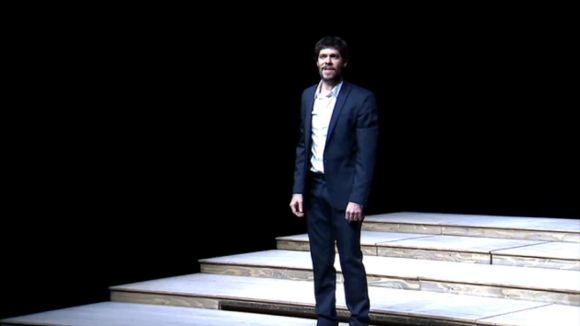 'Informe per a una acadèmia' enfronta el públic i Kafka al Teatre-Auditori