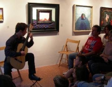 La música irromp amb força a l'agenda de la Canals Galeria d'Art