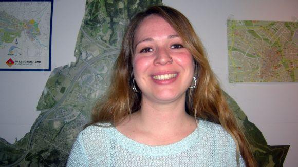 Janet Sanz és la responsable del medi ambient d'ICV