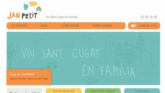 Neix Janpetit.cat, la primera comunitat virtual per a famílies de Sant Cugat