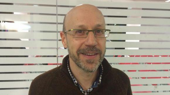 Jaume López (Reinicia Catalunya): 'La Constitució espanyola és l'antimodel del que volem fer'