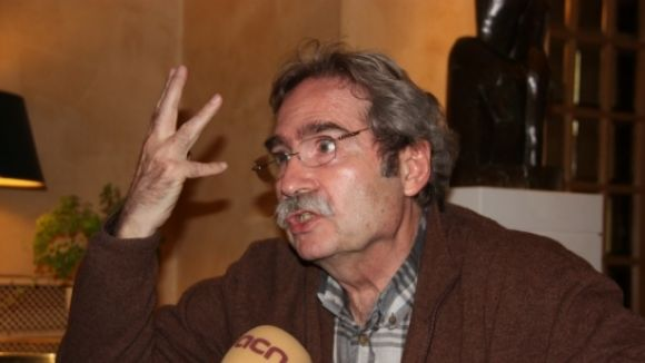 Jaume Cabré, Creu de Sant Jordi, visita dijous Sant Cugat
