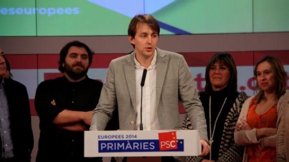 L'executiva local del PSC, satisfeta amb el candidat a les europees
