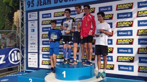 L'atleta cadet del Viaró Javi Guarner guanya la 95a edició de la Jean Bouin