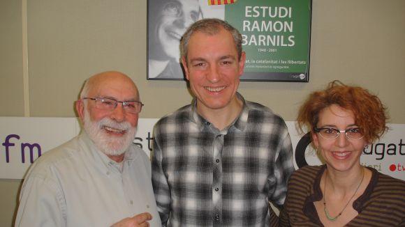 L'actor Carles Martínez visita el 'Molta Comèdia'