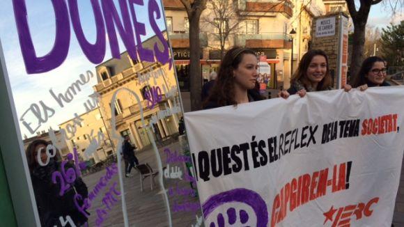 Les JERC fan una crida a la manifestació del 8 de març i demanen al govern local assolir 'la igualtat real'