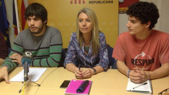 Les JERC reclamen polítiques socials i d'oci per a la joventut 'expulsada' per CiU