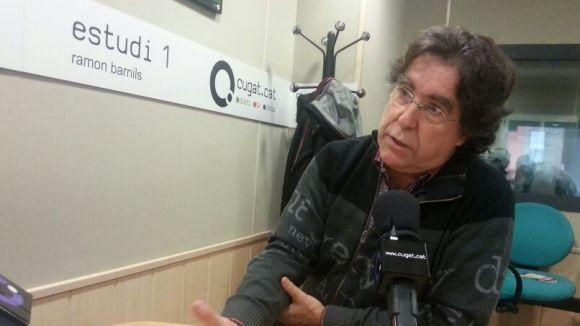 Prieto, durant una entrevista al magazín 'Sant Cugat a Fons-Matins en Xarxa'