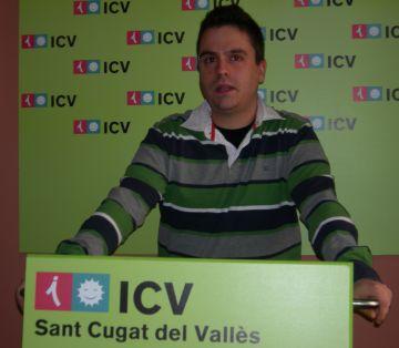 Joan Calderon, president i portaveu municipal d'ICV-EUiA