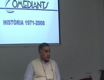 Joan Font repassa la trajectòria de Comediants a la Casa de Cultura