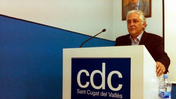 Joan Maria Terribas, nou president de CDC a Sant Cugat