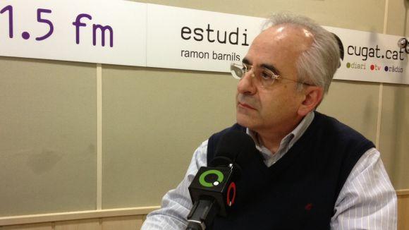 Puigdomènech: 'La meva aposta és que l'ETSAV mantingui el model educatiu'