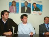 Paulo, al centre de la imatge, en un acte del PP