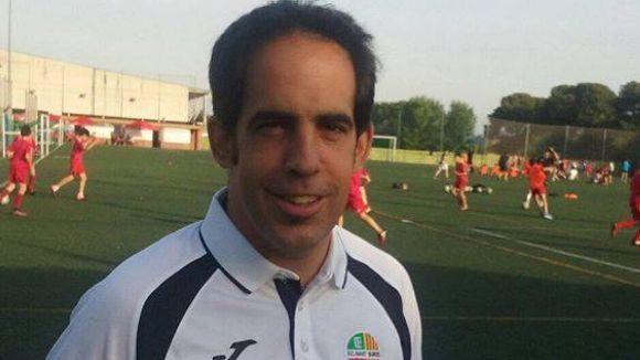 Joan Garcia, nou entrenador del Sant Cugat Futbol Club / Font: FC Sant Quirze