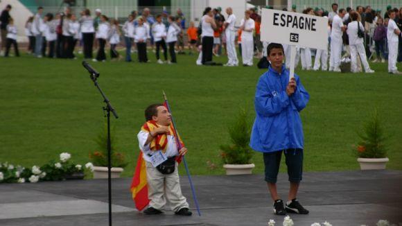 Joan Pahisa en la participació del 2013 a Michigan / Font: Cedida