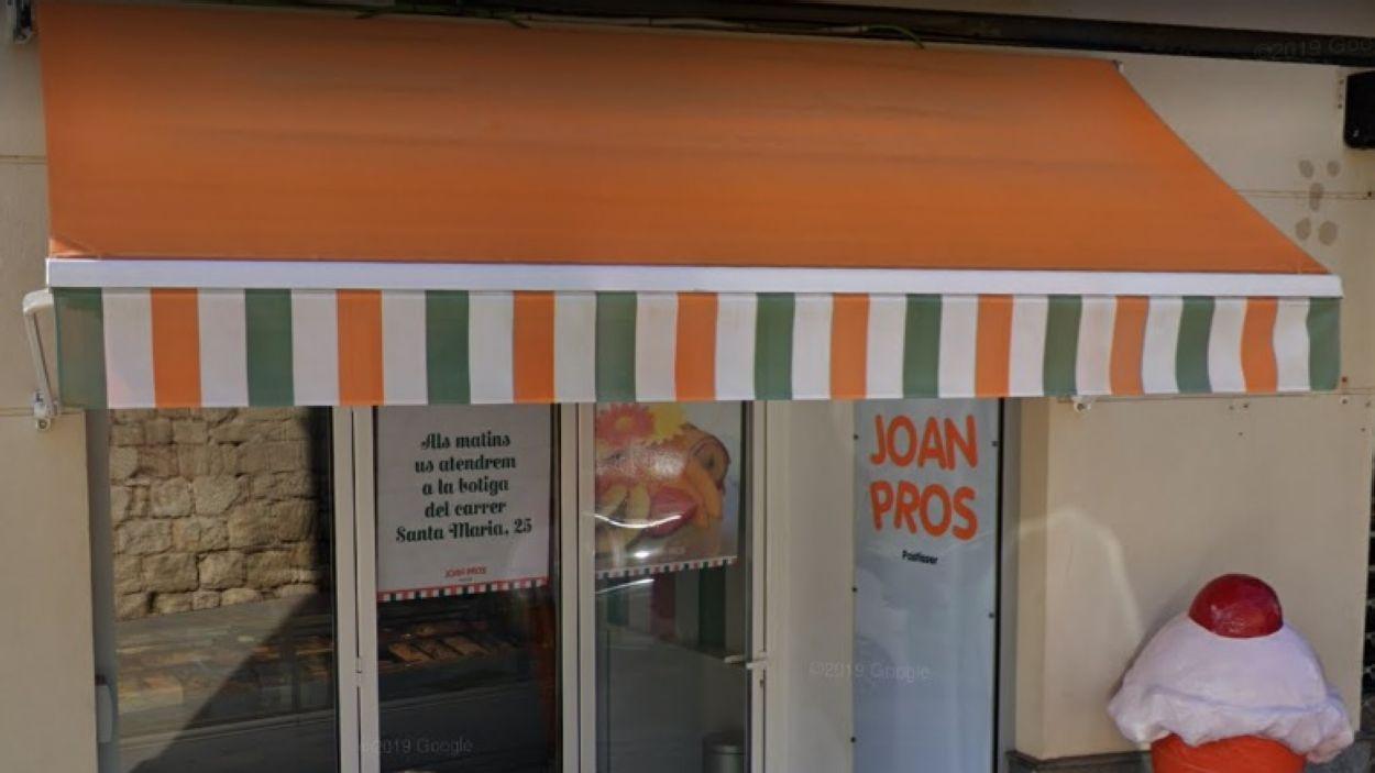 Barres de gelat artesanals i orxata de Joan Pros a domicili / Foto: Google Maps