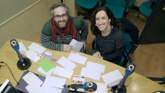 Anna Vidal recull la panera de Cugat.cat, valorada en més de 700 euros