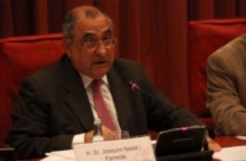 Joaquim Nadal aposta per potenciar el transport ferroviari