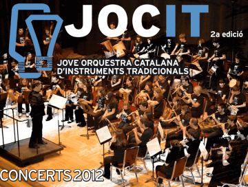 La Jove Orquestra Catalana d'Instruments Tradicionals amplia la representació santcugatenca