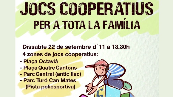 Gimcana familiar: Jocs Cooperatius