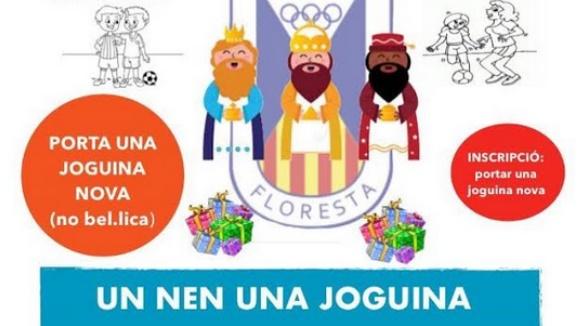 Torneig 3x3 del Futbol Sala per a la recollida de joguines per a Càritas