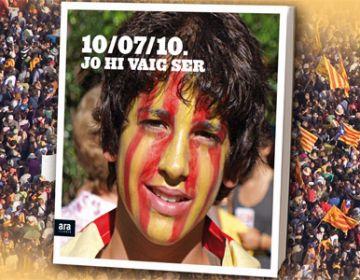 Es posa a la venda un llibre amb més de 200 fotografies del 10-J