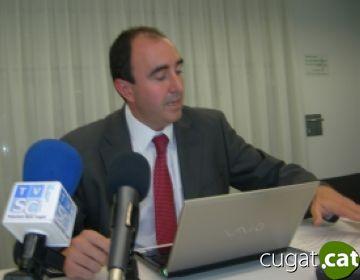 Jordi Joly presenta el model de gestió econòmica de la ciutat al Col·legi d'Economistes de Catalunya
