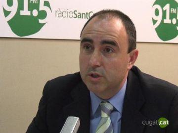 Jordi Joly: 'Els empresaris i els comerciants han de seguir apostant pel Sant Cugat Actiu'
