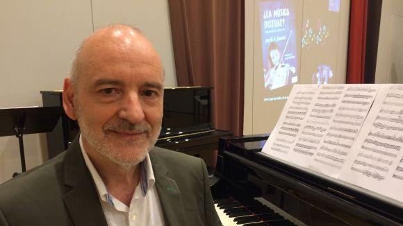 Jordi A. Jauset: 'El fetus que escolta música al ventre està aprenent i després en reconeix les melodies'