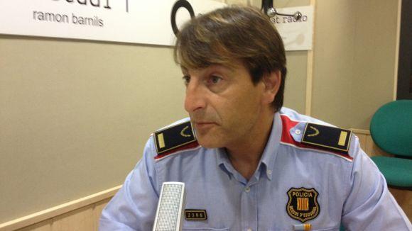 Jordi Hosta és el nou sotscap de la comissaria de Rubí