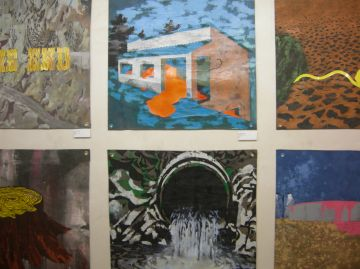 Jordi Prat porta el collage i els materials reutilitzats a Pou d'Art