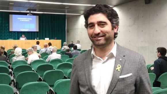 Puigneró ha ofert aquest dimecres una conferència a l'Arxiu Nacional de Catalunya